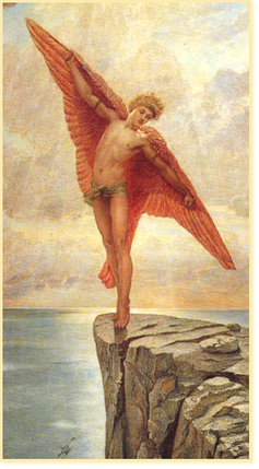 Bild: -Icarus- von Sir William Blake Richmond, 1887