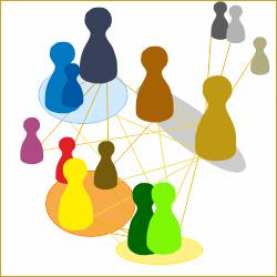 Grafik: Wechselwirkungen innerhalb eines Systems